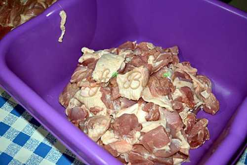 Carnatii din carne de pasare