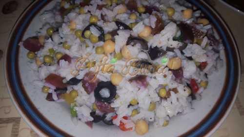 Coman Ciprian - Salata de orez cu legume