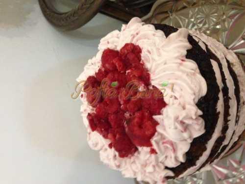 Cristina Braileanu - Mousse de iaurt cu fructe de padure