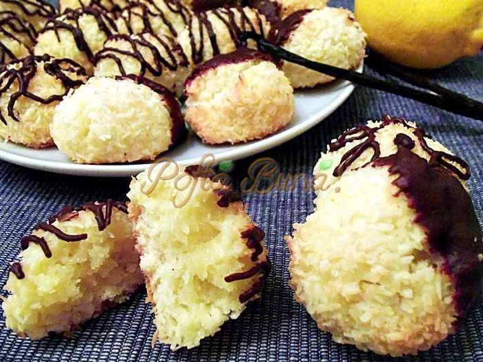 Fursecuri cu nuca de cocos pofta buna cu gina bradea 3 - Fursecuri cu nuca de cocos