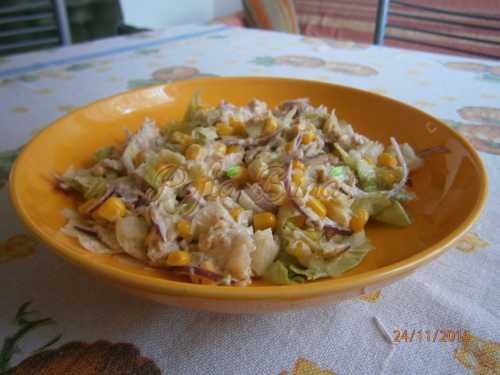 Gavriluta Alexandra - Salata de ton si de porumb