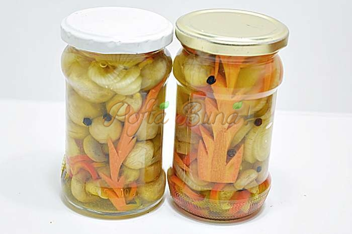 Salata de ciuperci pentru iarna pofta buna cu gina bradea 3 - Ciuperci marinate pentru iarna