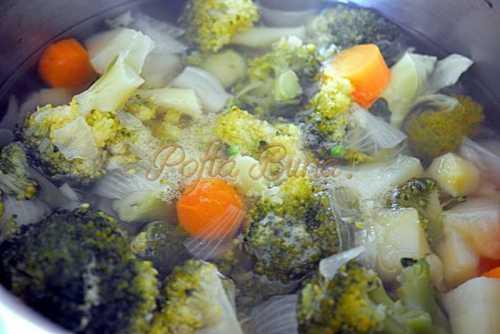Supa crema de brocoli