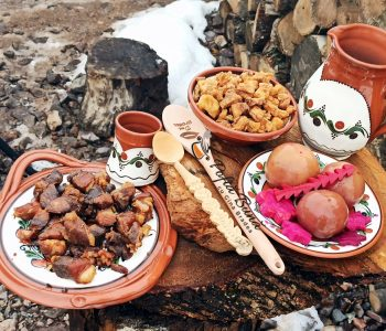 Carne la garnita friptura in untura - reteta traditionala