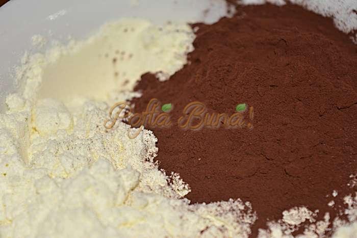 Ciocolata de casa pofta buna cu gina bradea 4 - Ciocolata de casa cu lapte praf, nuca si rom, reteta copilariei