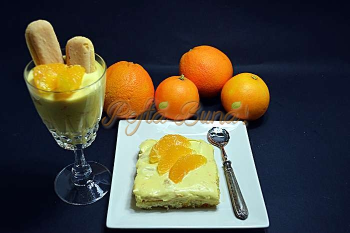Tiramisu de portocale pofta buna cu gina bradea 1 - Tiramisu de portocale
