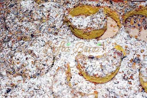 Prajitura semiluna cu nuca