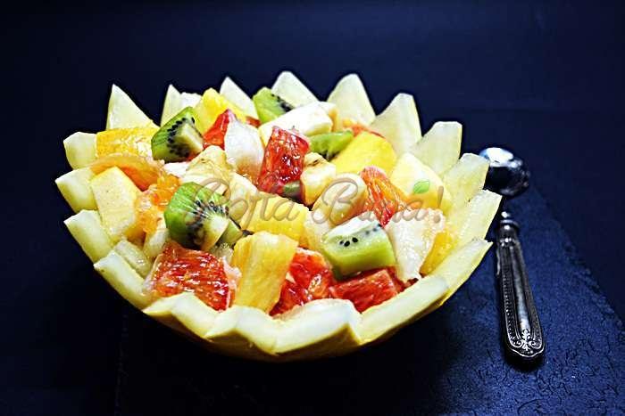 Salata de fructe pofta buna cu gina bradea 3 - Index retete culinare (categorii)