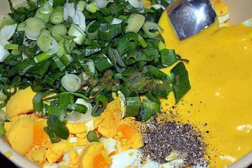 Salata de oua, reteta simpla