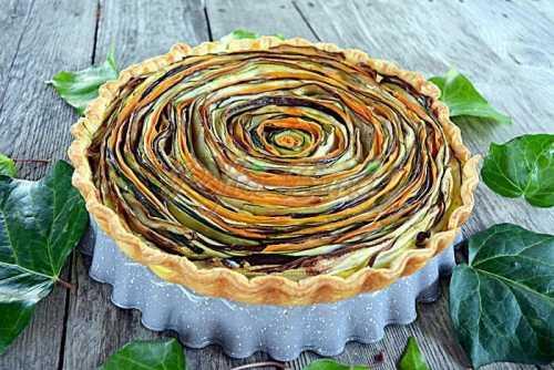 Tarta curcubeu cu dovlecei vinete morcov branza pofta buna cu gina bradea 2 500x334 - Index retete culinare (categorii)