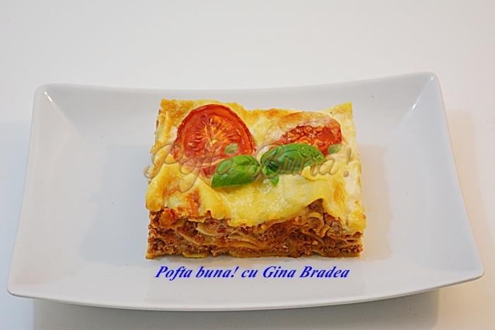 Lasagna, reteta clasica