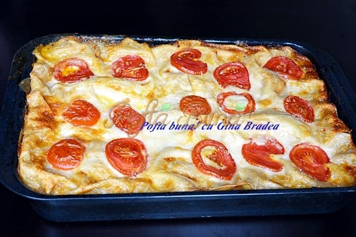 Reteta clasica de lasagna