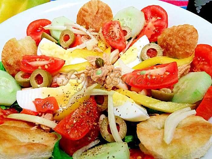 Salata nicoise nizzarda pofta buna cu gina bradea 2 - Salata Nicoise - insalata Nizzarda