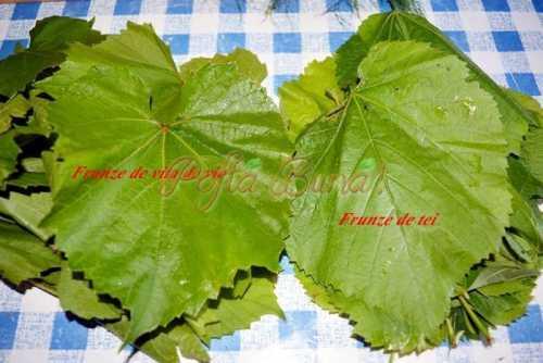 Sarmale cu frunze de tei si vita pofta buna cu gina bradea 9 500x334 - Sarmale dietetice din piept de pui in frunza de tei, acrite cu corcoduse