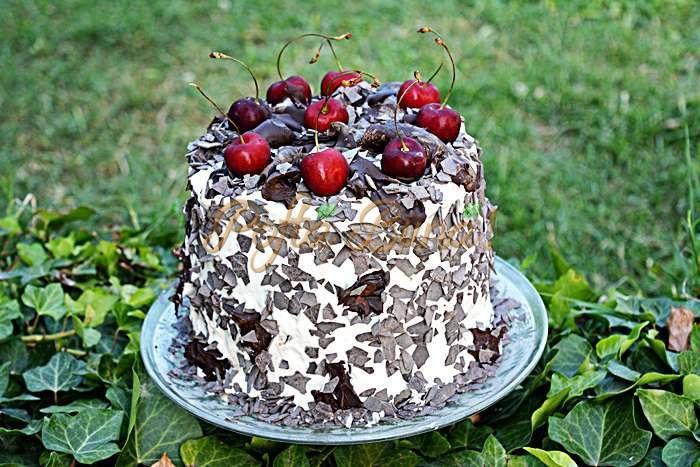 Tort padurea neagra pofta buna cu gina bradea 1 - Tort Padurea Neagra