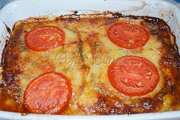 Parmigiana de vinete, reteta clasica italiana