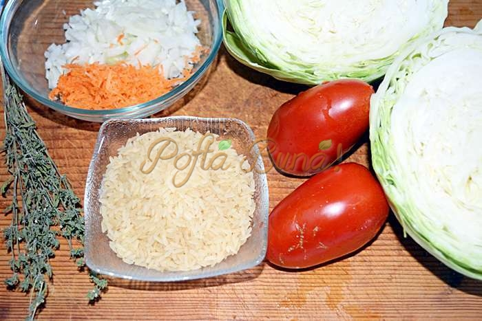 Sarmale sparte sau varza cu orez pofta buna cu gina bradea 2 - Sarmale sparte sau varza cu orez