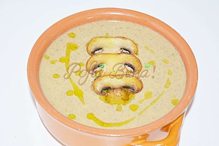 Supa crema de ciuperci pofta buna cu gina bradea 3 - Supa crema de ciuperci
