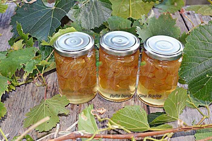 Dulceata naturala de struguri reteta pofta buna cu gina bradea 700x467 - Dulceata de struguri