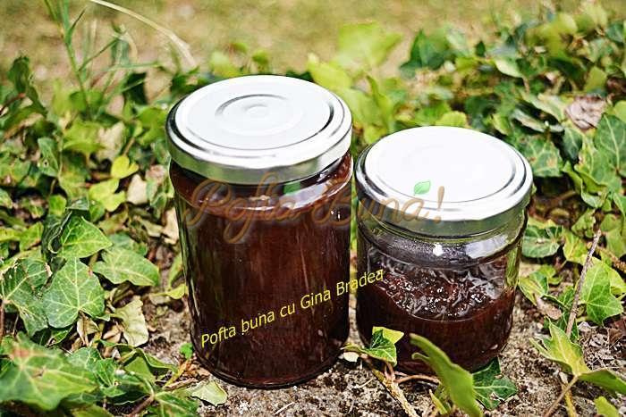 Gem de prune magiun silvoita fara zahar pofta buna cu gina bradea - Gem de prune fara zahar, reteta simpla