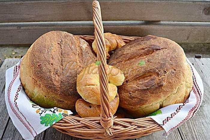 Paine pufoasa de casa cu malai si cartofi pofta buna cu gina bradea 3 - Index retete culinare (categorii)