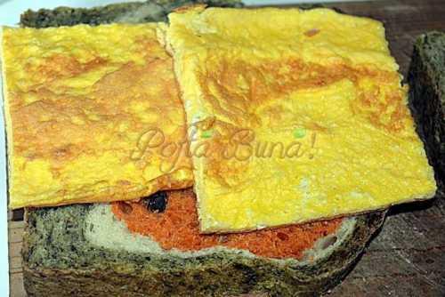 Sandvisuri cu omleta