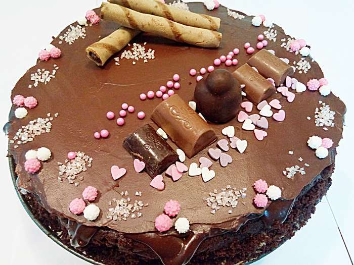 Tort cu ciocolata si ricotta pofta buna cu gina bradea 5 - Tort cu ciocolata si ricotta