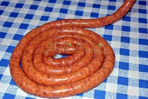 Carnati virsli (reteta traditionala)
