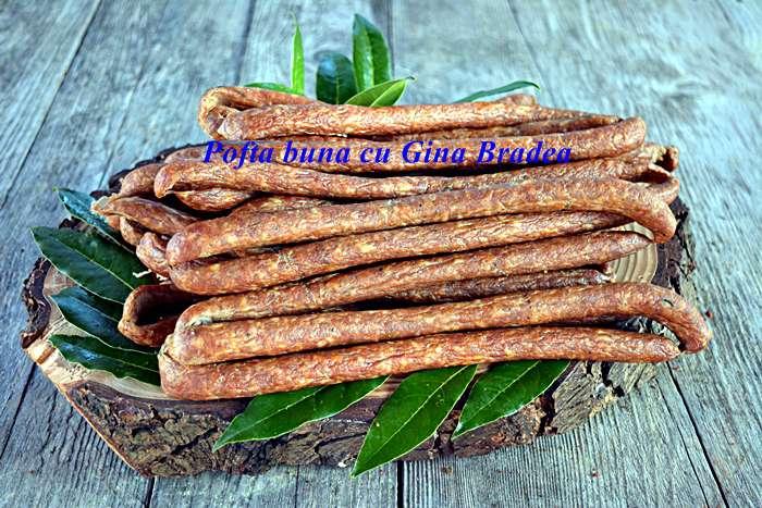 Carnati virsli reteta traditionala pofta buna cu gina bradea 6 - Carnati virsli (reteta traditionala)