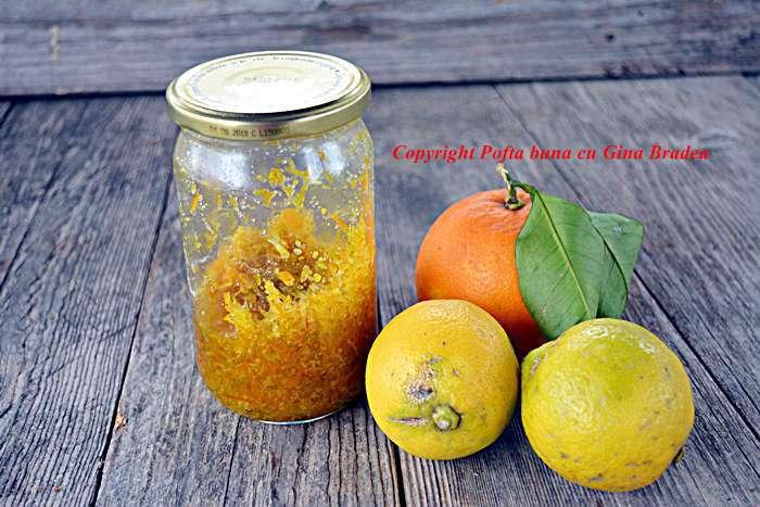 Razatura, arome naturale de lamaie si portocale