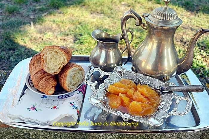 Croissant reteta simpla de baza pofta buna cu gina bradea - Croissant, reteta simpla, de baza