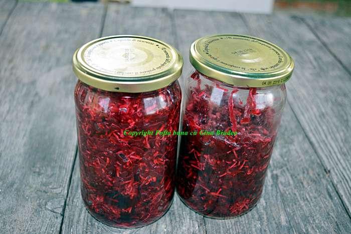 Salata de sfecla rosie cu hrean reteta pofta buna cu gina bradea - Salata de sfecla rosie cu hrean