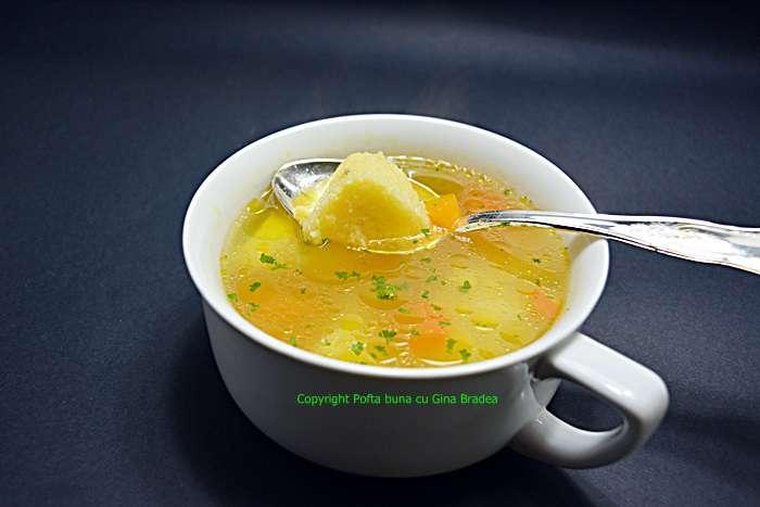 Supa de galuste din gris