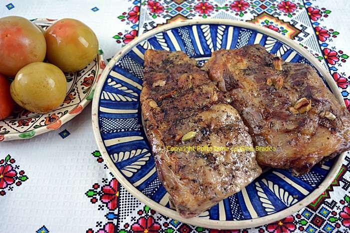 Costite de porc la cuptor reteta simpla traditionala - Costite de porc la cuptor, reteta simpla, traditionala