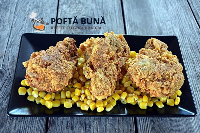 Aripioare de pui crocante ca la KFC 9 - Aripioare de pui crocante, ca la KFC