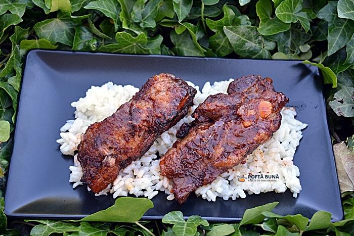 Costite de porc picante la cuptor fragede si aromate 2 - Costite de porc picante, la cuptor