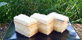 Prajitura Rafaello cu blat din albusuri si nuca de cocos
