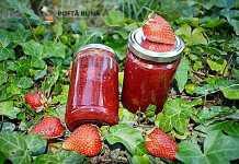 Gem natural de capsune, reteta simpla, veche, fara aditivi
