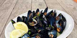 Midii-cozze alla marinara, reteta clasica italiana