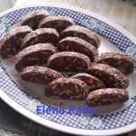 Salam de biscuiti Elena Radu 150x150 - Salam de biscuiti reteta veche pas cu pas
