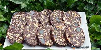 Salam de biscuiti, reteta veche pas cu pas