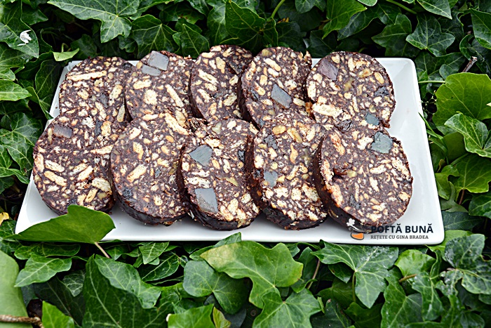 Salam de biscuiti reteta veche pas cu pas - Salam de biscuiti, reteta veche pas cu pas