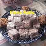 Tavalita cu cocos Elena Radu 150x150 - Prajitura tavalita cu nuca si cocos - Lamington