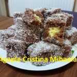 Tavalita cu nuca de cocos Agapie Cristina Mihaela 150x150 - Prajitura tavalita cu nuca si cocos - Lamington