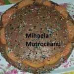 Tort cu blat umed de cacao si crema ganache de ciocolata Ella Motroceanu 150x150 - Tort cu blat umed de cacao, crema de mascarpone si cafea