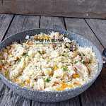 Pilaf cu carne de pui si legume, reteta clasica