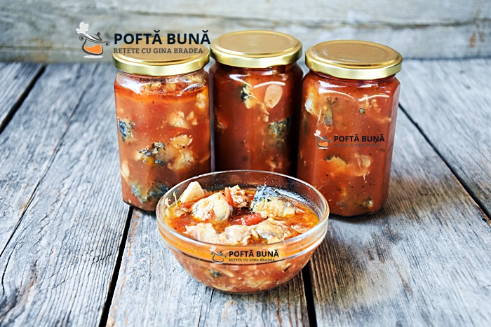 Conserva de peste in sos tomat reteta pentru iarna - Conserva de peste in sos tomat, reteta pentru iarna
