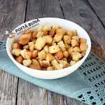 Crutoane aromate din paine, pentru supa, reteta simpla, ieftina
