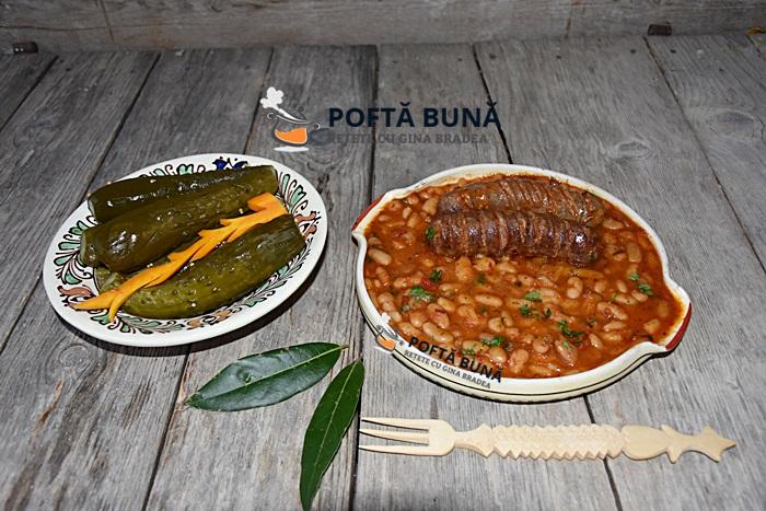 Iahnie mancare de fasole cu carnati afumati reteta traditionala - Iahnie, mancare de fasole cu carnati afumati (reteta traditionala moldoveneasca)