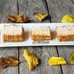 Prajitura de post fara coacere, cu mere si biscuiti